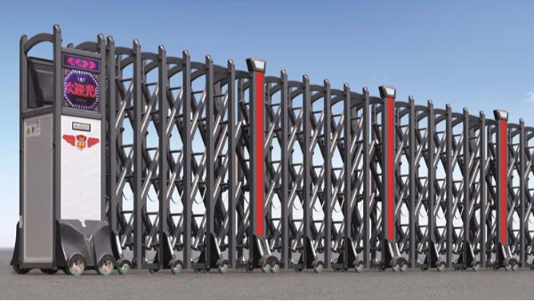 不锈钢电动伸缩门在哪种情况下容易生锈呢?