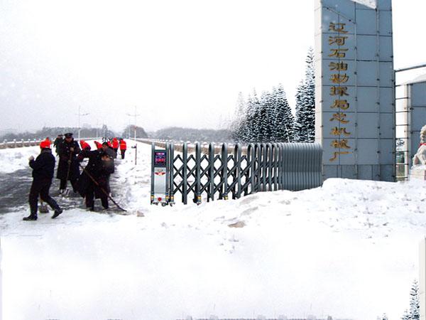 建星智能冰雪天气出入口解决方案