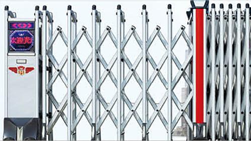 280银盾系列电动伸缩门细节