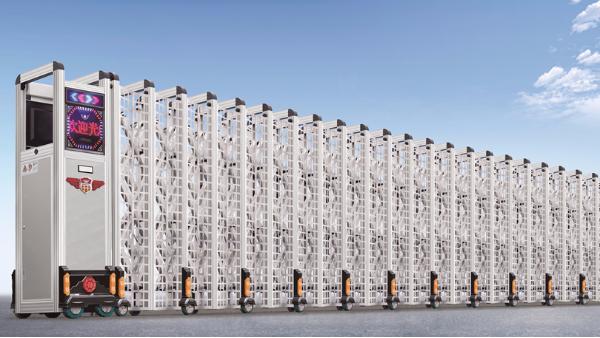 伸缩门厂家告诉您,工业段滑门和电动伸缩门哪个更适合厂房?