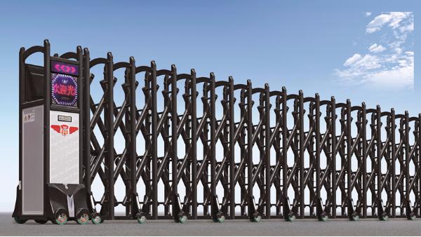 伸缩门厂家告诉你不锈钢和铝合金的电动伸缩门哪个好?