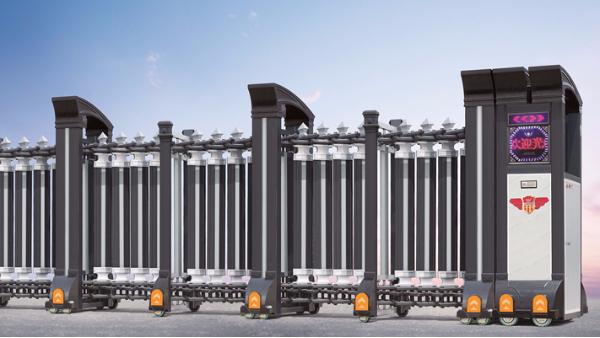 众多电动伸缩门厂家里一线品牌有几个在广东佛山?